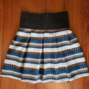 Freeway Tribal Print Skirt